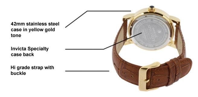 Invicta Watch diagrama 2