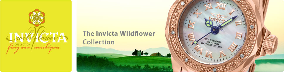 The Invicta Wildflower Collection