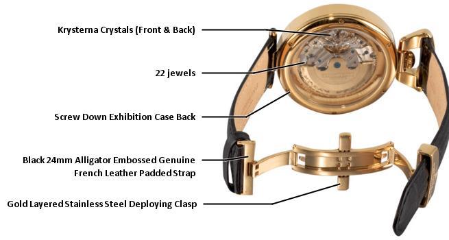 B003X0Y2KS 127A.333531 photo2 - Stuhrling Original Grandeur Gold Mens 127A.333531 watch