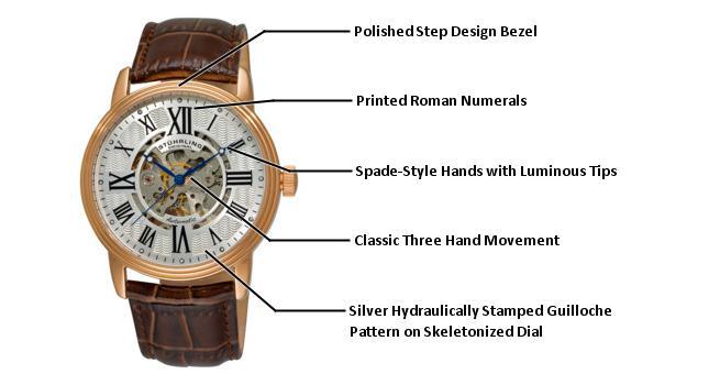 B005GF45QO 1077.3345K2 photo1 - Stuhrling Original Classic Silver Mens 1077.3345K2 watch