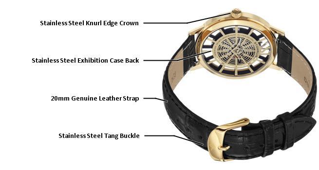 B0089K8CJO 388S.333531 photo2 - Stuhrling Original Classic Gold Mens 388S.333531 watch