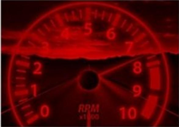 red line speedometer image