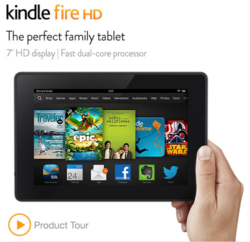 Amazon - Amazon announces Kindle Fire HD 7