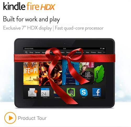美国亚马逊今日特价 Kindle 5、 Kindle Fire HD 16GB、 Kindle Fire HDX 7 16GB Wi-Fi
