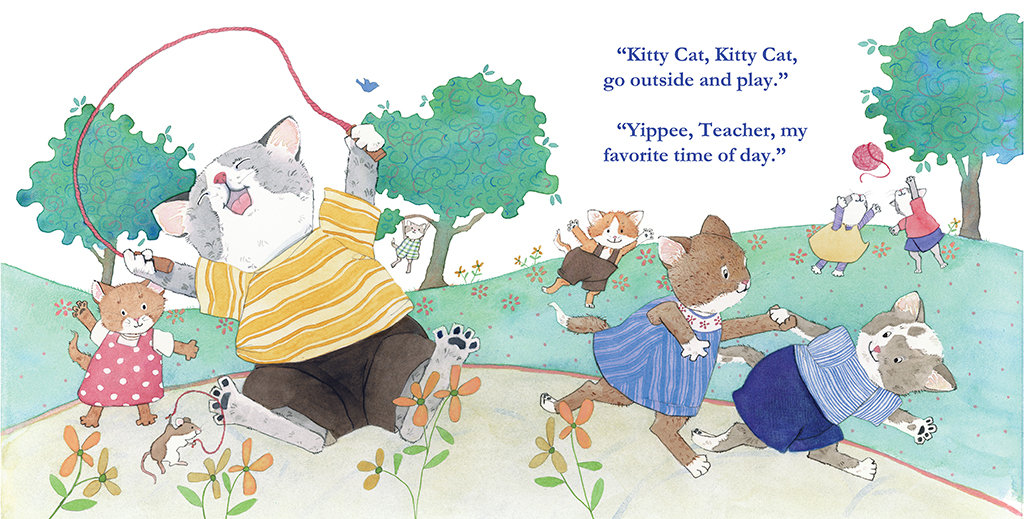 Kitty Cat, Kitty Cat, Are You Going To School? Hardcover – August 6