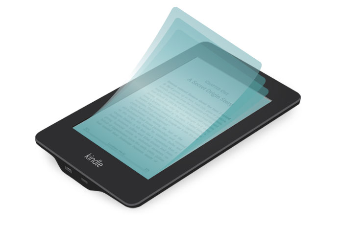 airfoil 4-layer screen protector for kindle paperwhite