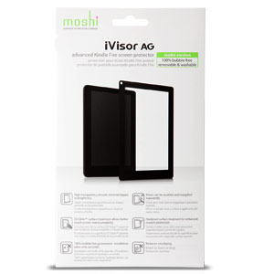 packaging of the moshi i-visor for kindle fire