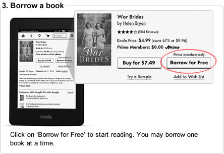 Click on �Borrow for Free� to start reading. You may borrow one book at a time.