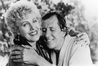 Lynn redgrave and Geoffrey Rush