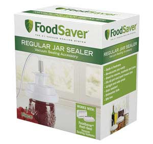 FoodSaver Regular Jar Sealer