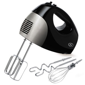 Hand mixer with accessories