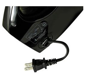Retractable power cord