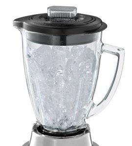 6-cup glass jar