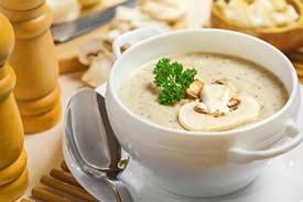 Purees soup