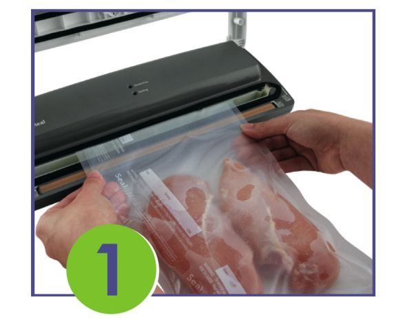 Seal-a-Meal Vacuum Sealer is the fresh solution for food storage. This system keeps food fresh longer by removing air from specially-designed bags and then creates a secure, air-tight seal so you can store food in refrigerator, freezer and pantry for a longer period of time compared to regular storage methods.