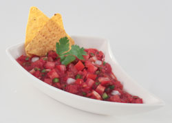 Make fresh salsa