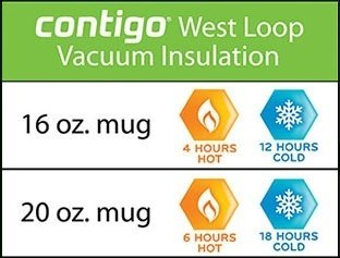 Contigo West Loop 4 hours hot, 12 hours cold