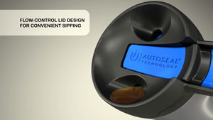 Flow-control lid