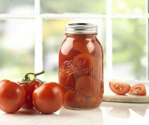 Ball mason regular mouth quart jars with lids and bands for Jardin glass jars