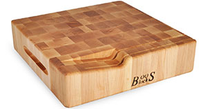Maple End Grain Cutting Board Plans
