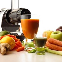 Omega J8005 Fruit juice extractor attachment