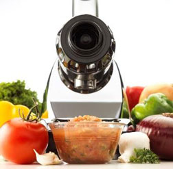 Omega J8005 food processor attachment