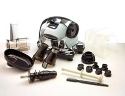 Omega J8005 attachments and accessories