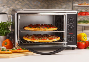 Countertop Oven For Turkeys : ... Countertop Oven with Convection and Rotisserie: Toaster Ovens: Kitchen
