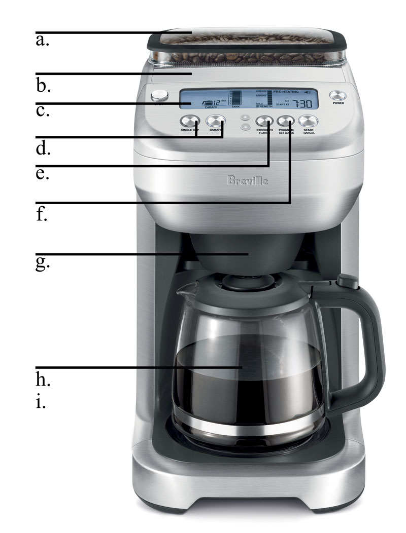 Breville Brebdc550xl Quot The You Brew Quot Glass Carafe Coffee