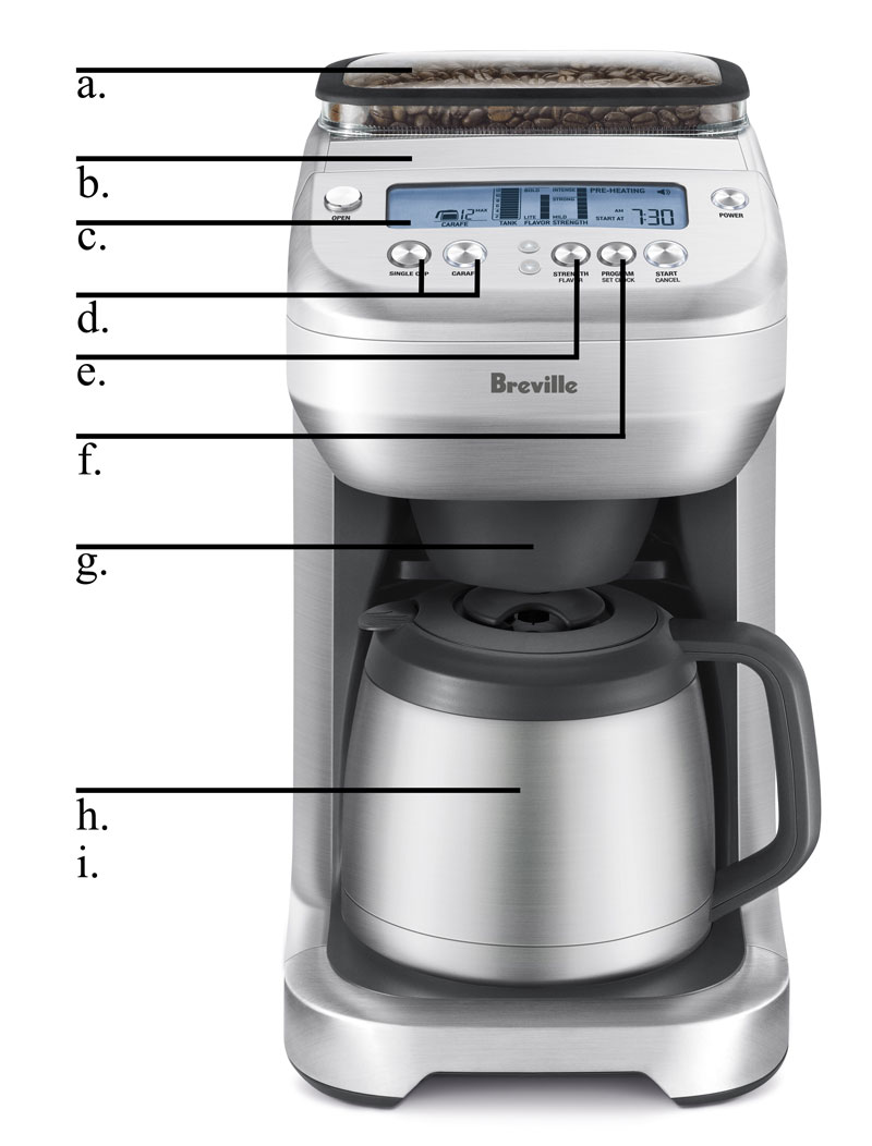 Breville Coffee Maker How To Use : Breville BDC600XL YouBrew Drip Coffee Maker eBay