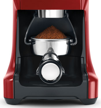 The Breville BCG800CBXL Smart Grinder can grind into a number of containers