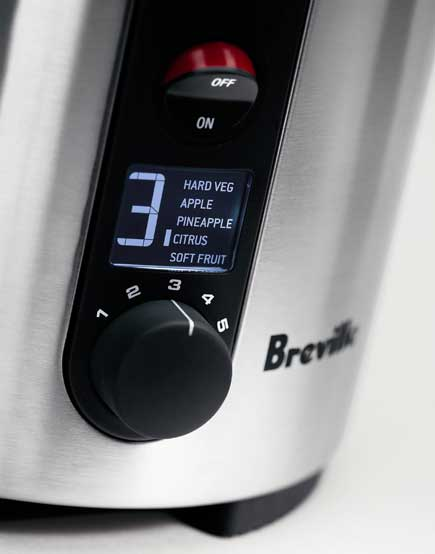 Breville BJE510XL Variable Speed Dial