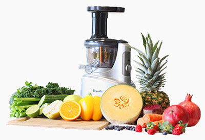 Breville Juice Fountain Crush and Fruit and Vegetables