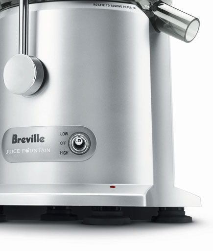 Breville RM JE98XL Certified Remanufactured Juice Fountain Plus 850 Watt Juice Extractor%