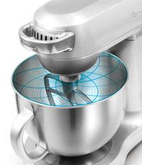 Breville BEM800XL Mixer Scraper Pro Stand Mixer planetary mixing feature
