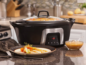 Hamilton Beach 6 Quart Insulated Programmable Slow Cooker - 33265