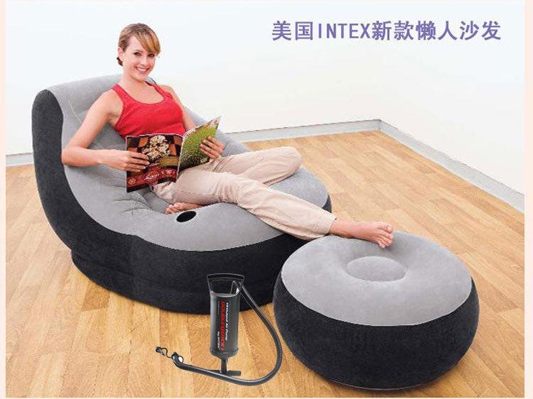 INTEX 沙发组合 送INTEX原装手动充气泵,秒杀价139元包邮