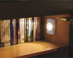 Mr. Beams MB854 Indoor Wireless Slim LED Light with Motion Sensor