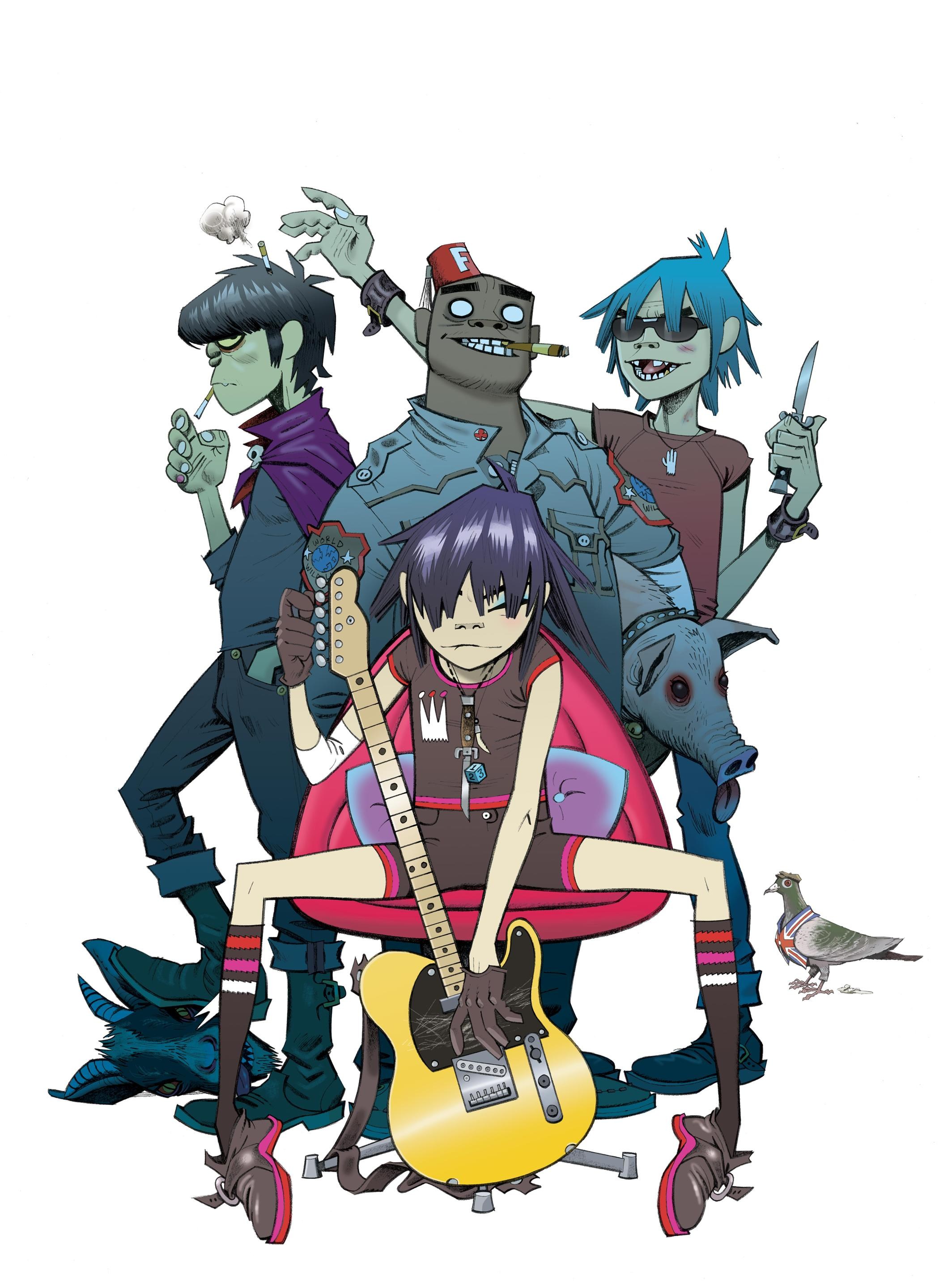 Y Gorillaz Gorillaz - Space Monke...