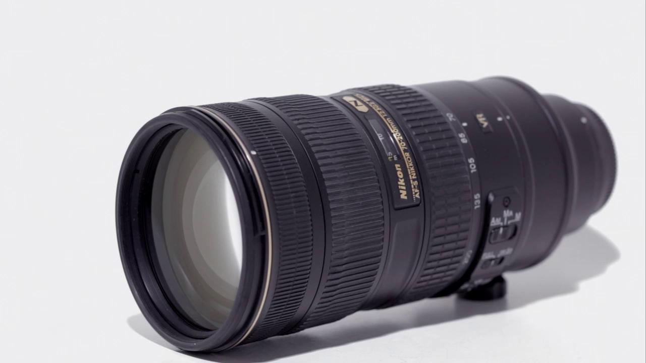 Nikon AF-S Nikkor 70-200mm f/2.8 G ED VR II Lens by DPReview