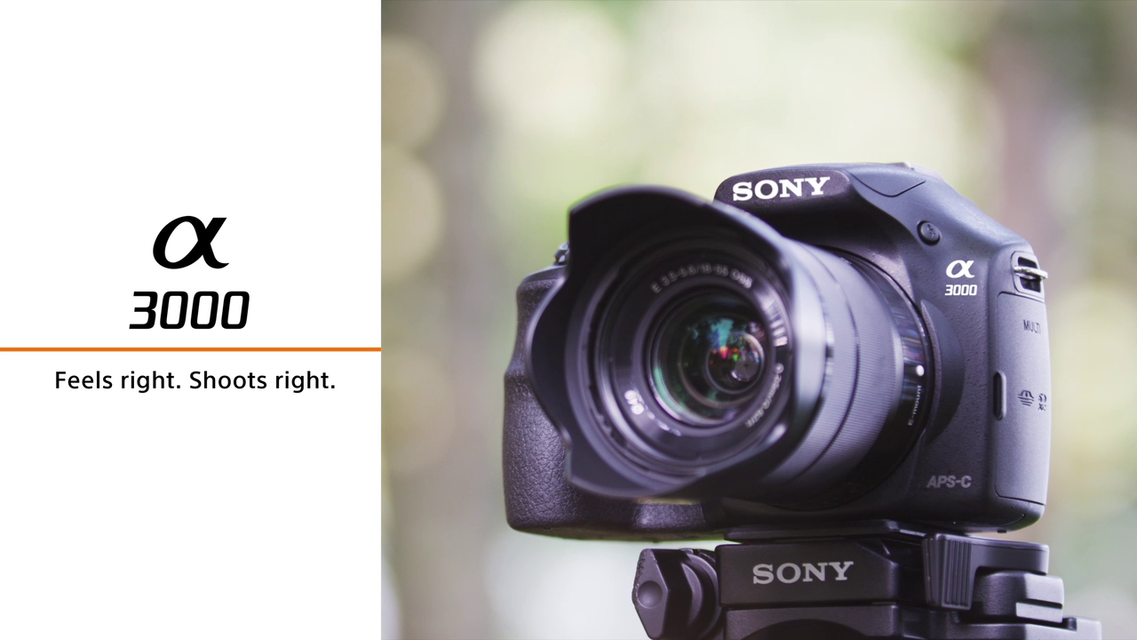 a3000 Mirrorless Camera by Sony