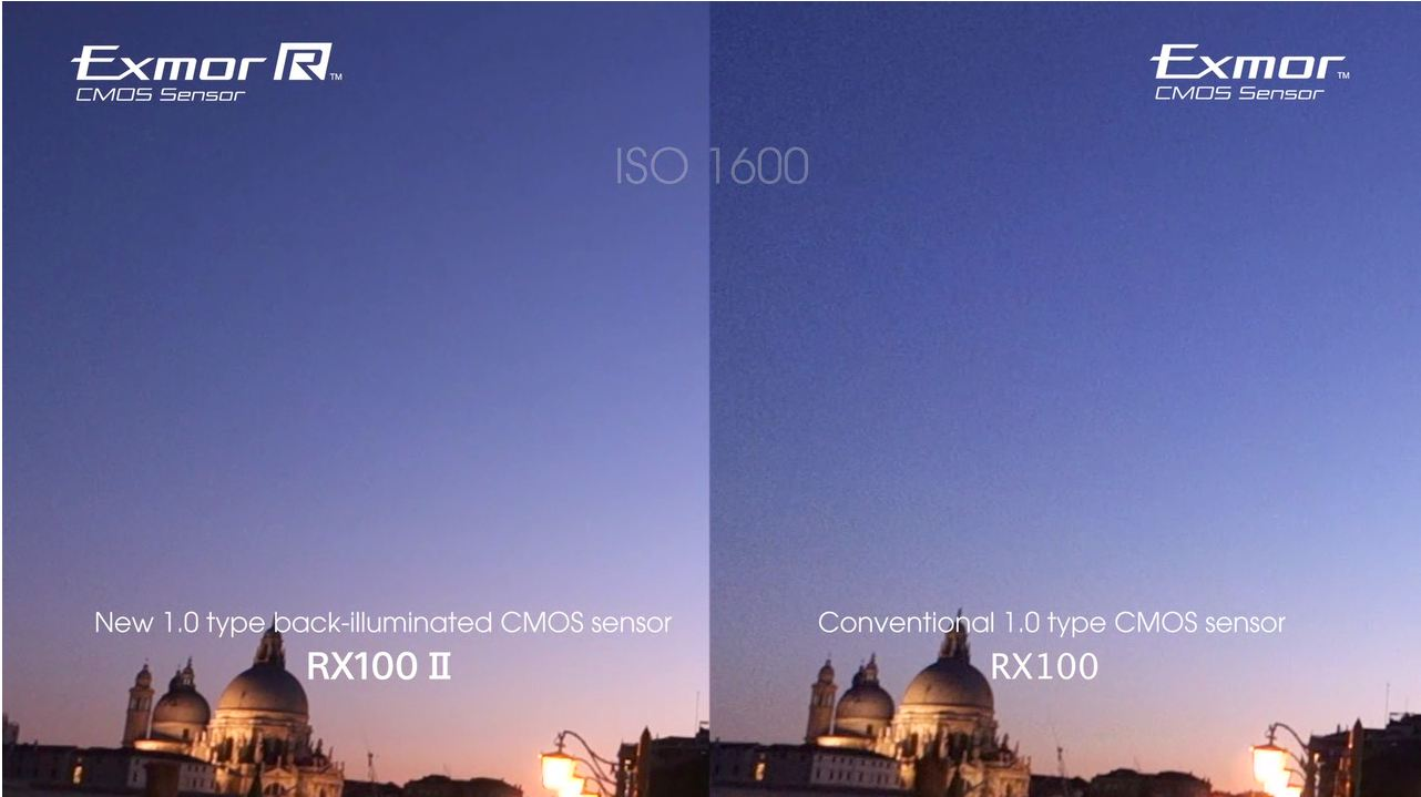 RX100 vs. RX100 II Noise Comparison in Video by Sony
