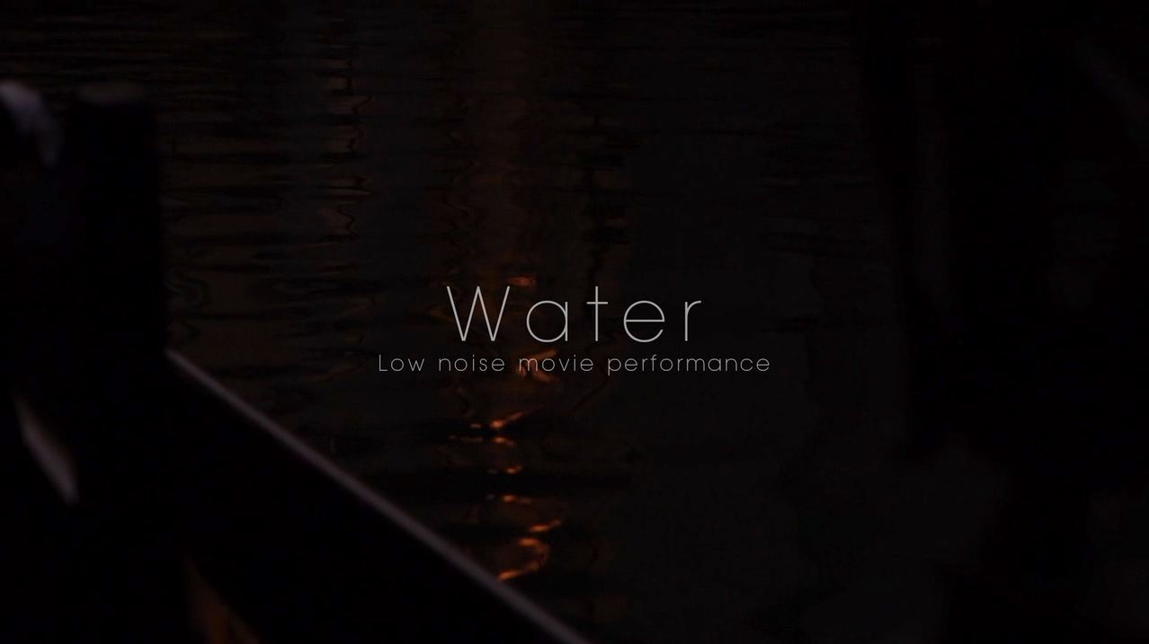 Water: 60p Video Sample by Sony