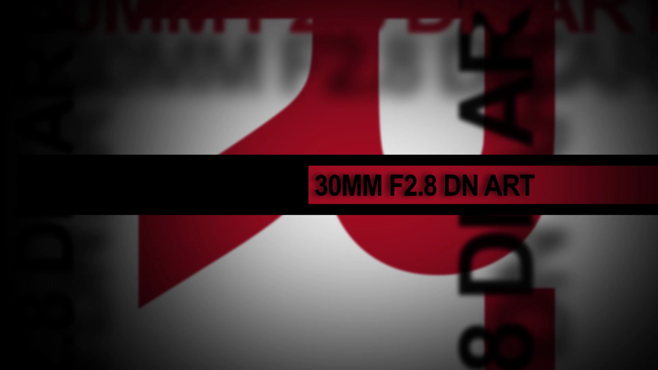 30mm f/2.8 DN Art Lens for Micro Four Thirds and NEX by Sigma