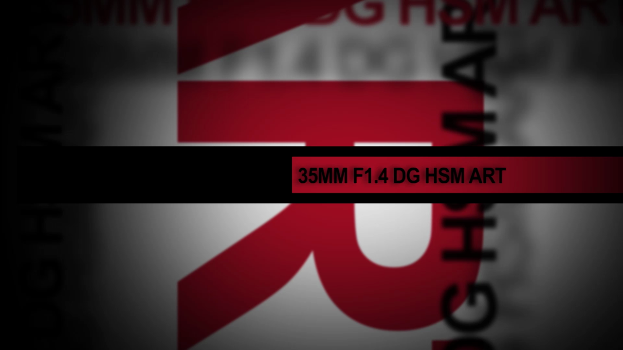 35mm f/1.4 DG HSM Lens by Sigma
