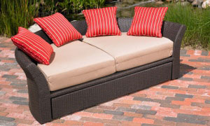 Corinth daybed loveseat