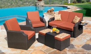 Sedona outdoor space
