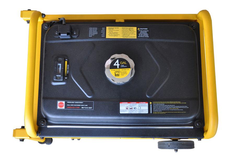 Wen 56352 3500 watt 212cc 7 hp ohv gas powered portable for Best garden tools brand