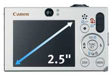 Canon PowerShot SD1000 Features and Highlights