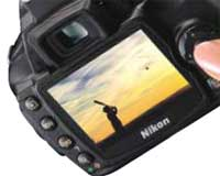Nikon D40 DSLR highlights